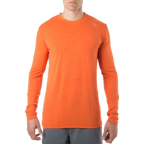 Mens Tasc Performance Elevation Long Sleeve Technical Tops - Carrot XL