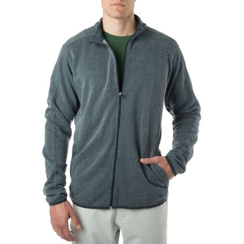 Mens Tasc Performance Transcend Fleece Jacket Hoodie & Sweatshirts Technical Tops - Gunmetal ...