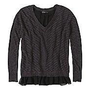 Womens prAna Ellery Sweater Long Sleeve Non-Technical Tops