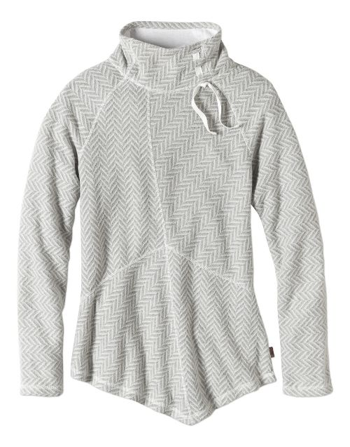 Womens prAna Mattea Sweater Long Sleeve Non-Technical Tops - Natural S