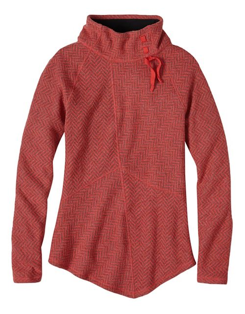 Womens prAna Mattea Sweater Long Sleeve Non-Technical Tops - Red S