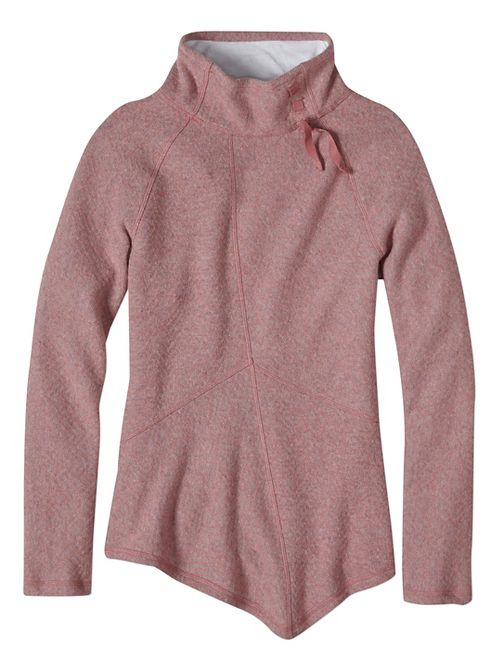 Womens prAna Mattea Sweater Long Sleeve Non-Technical Tops - Pink XL