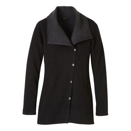 Womens prAna Milana Cold Weather Jackets - Black XL