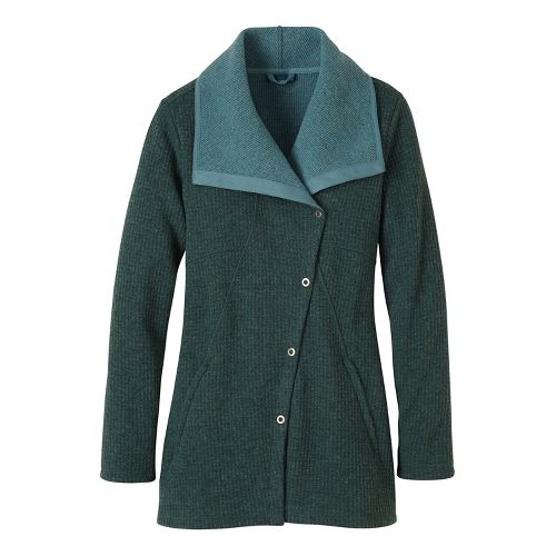 Womens prAna Milana Cold Weather Jackets - Green XL