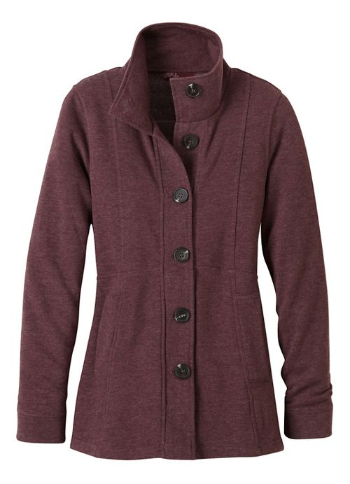 Womens prAna Catrina Cold Weather Jackets - Purple XS