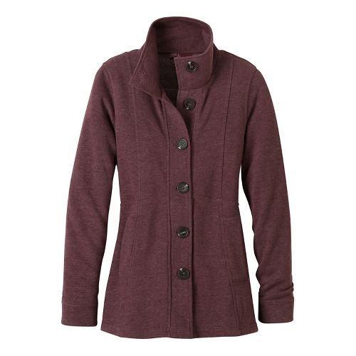 Womens prAna Catrina Cold Weather Jackets - Purple S