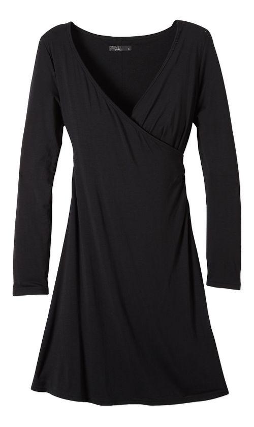 Womens prAna Nadia Dresses - Black S