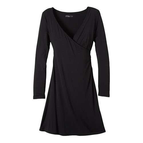 Womens prAna Nadia Dresses - Black XS