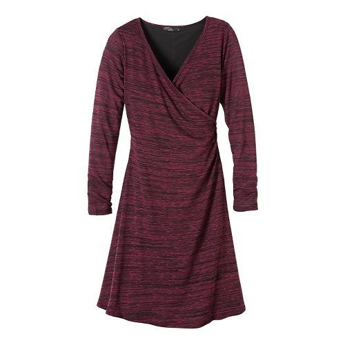 Womens prAna Nadia Dresses - Purple M