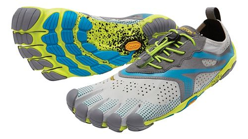 Mens Vibram V-Run Running Shoe - Oyster 44