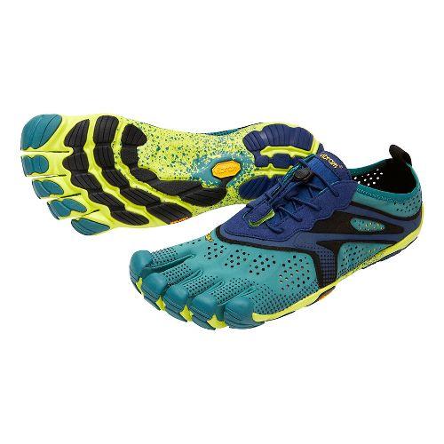 Mens Vibram V-Run Running Shoe - North Sea/Navy 43
