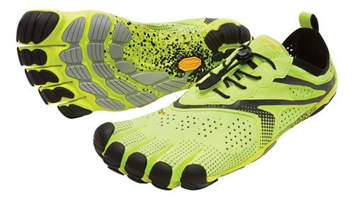 Mens Vibram V-Run Running Shoe - Yellow 41