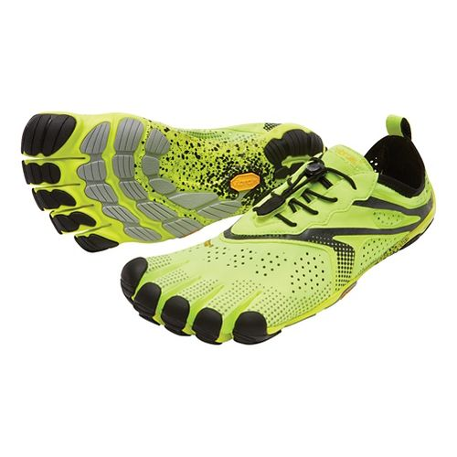 Mens Vibram V-Run Running Shoe - Yellow 43