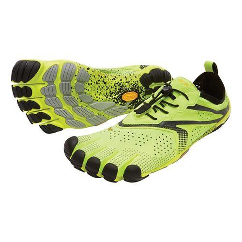 Mens Vibram V-Run Running Shoe - Yellow 45
