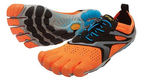 Mens Vibram V-Run Running Shoe - Orange 42