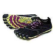 Womens Vibram V-Run Running Shoe - Black/Yellow 35