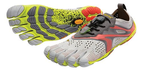 Womens Vibram V-Run Running Shoe - Oyster 40
