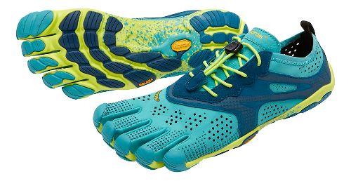 Womens Vibram V-Run Running Shoe - Teal/Navy 40