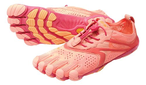 Womens Vibram V-Run Running Shoe - Pink/Red 38