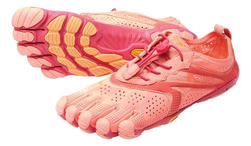 Womens Vibram V-Run Running Shoe - Pink/Red 39
