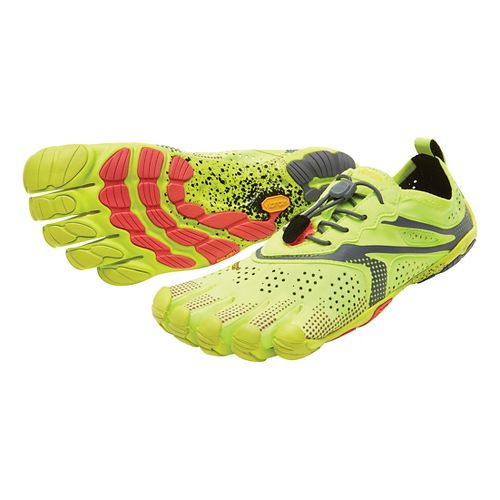Womens Vibram V-Run Running Shoe - Yellow 40
