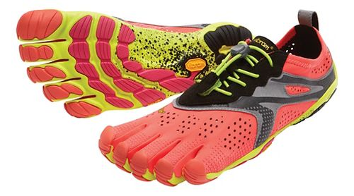 Womens Vibram V-Run Running Shoe - Yellow 37
