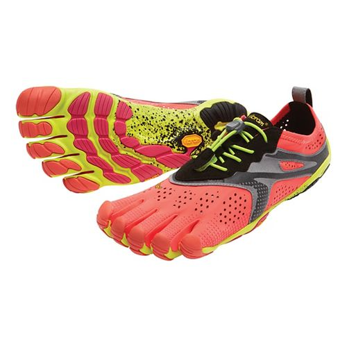Womens Vibram V-Run Running Shoe - Pink/Red 40