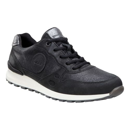Womens Ecco CS14 Sneaker Casual Shoe - Black/Black/Dark 39