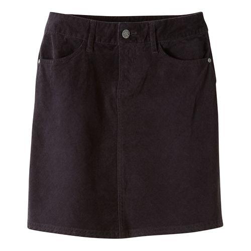 Womens prAna Trista Fitness Skirts - Black 6
