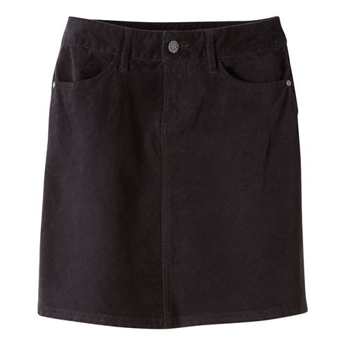 Womens prAna Trista Fitness Skirts - Black OS