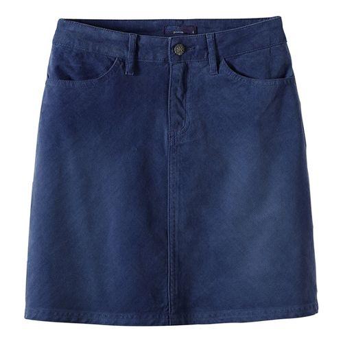 Womens prAna Trista Fitness Skirts - Grey 6