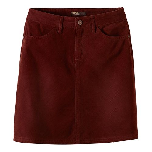 Womens prAna Trista Fitness Skirts - Brown 2