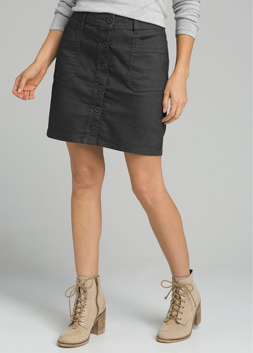 Womens prAna Kara Fitness Skirts - Black 4