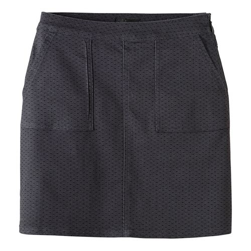 Womens prAna Kara Fitness Skirts - Grey 2