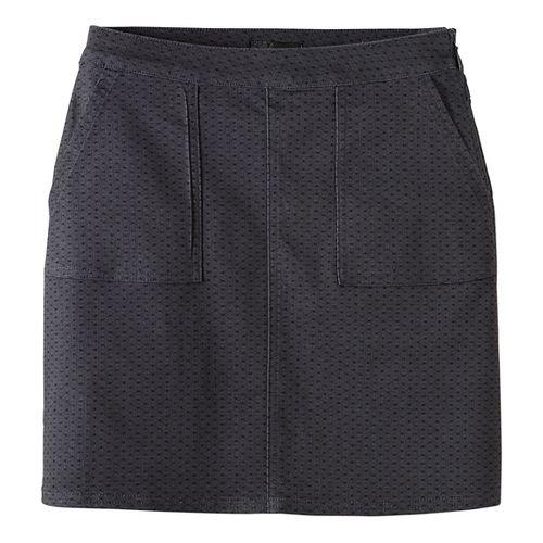 Womens prAna Kara Fitness Skirts - Grey OS
