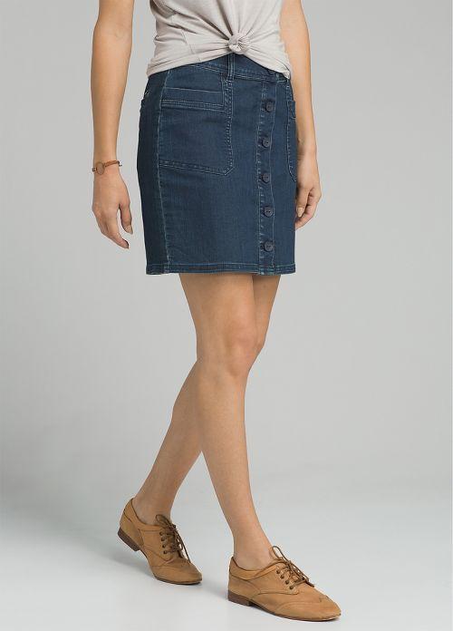 Womens prAna Kara Fitness Skirts - Indigo OS