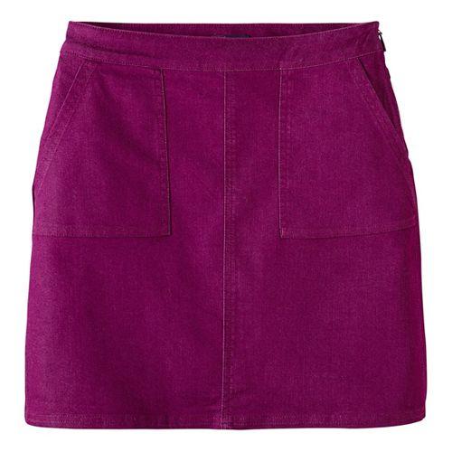 Womens prAna Kara Fitness Skirts - Purple 2