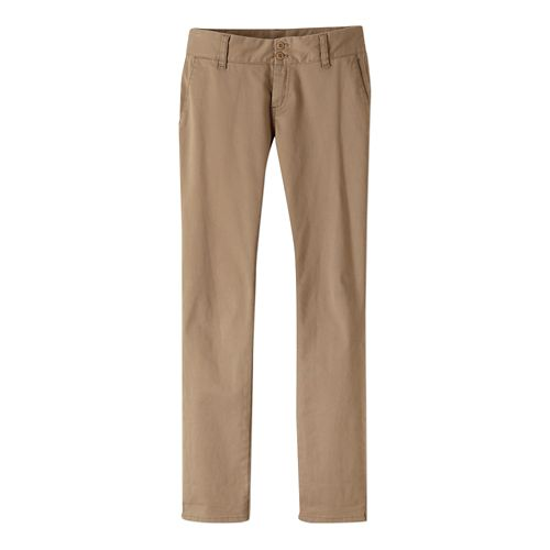 Womens Prana Stella Pants - Dark Khaki 8