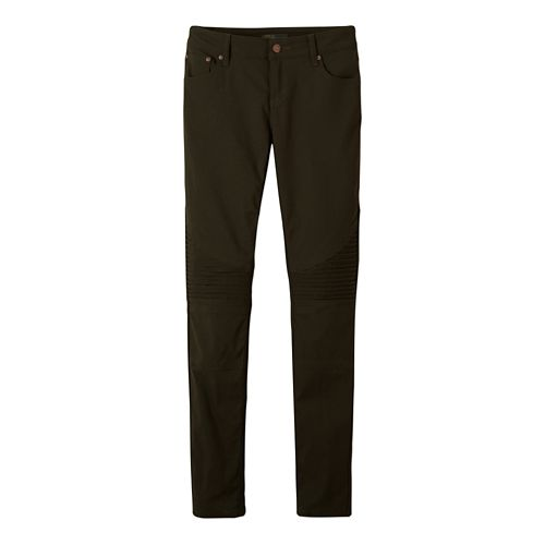 Womens prAna Brenna Pants - Dark Olive 4