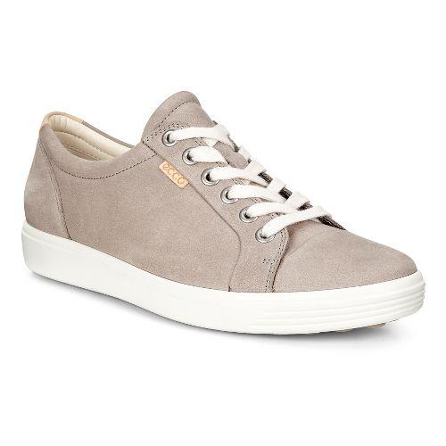 Womens Ecco Soft VII Sneaker Casual Shoe - Warm Grey 39