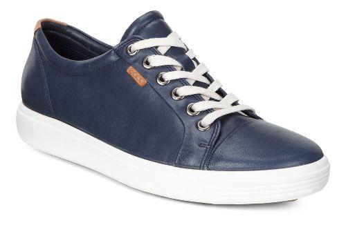 Womens Ecco Soft VII Sneaker Casual Shoe - Marine 40