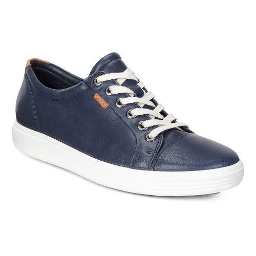 Womens Ecco Soft VII Sneaker Casual Shoe - Marine 36
