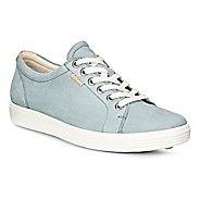 Womens Ecco Soft VII Sneaker Casual Shoe - Trooper 35