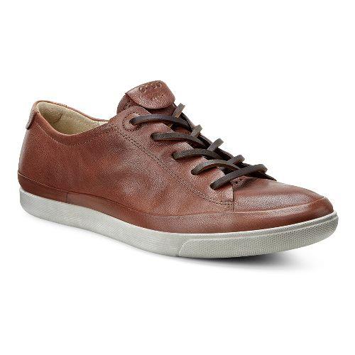 Womens Ecco Damara Tie Casual Shoe - Cognac 38