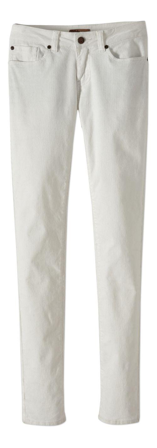 Womens prAna Trinity Cord Pants - Gravel 2