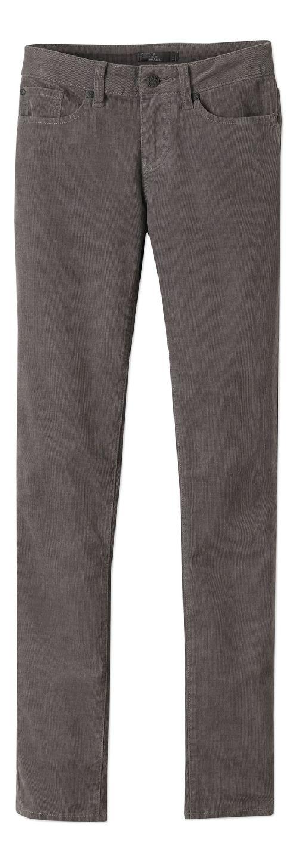Womens prAna Trinity Cord Pants - Gravel 10