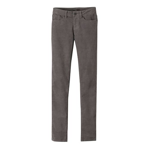 Womens prAna Trinity Cord Pants - Gravel 14