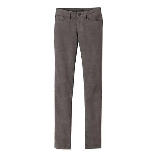 Womens prAna Trinity Cord Pants - Gravel OS