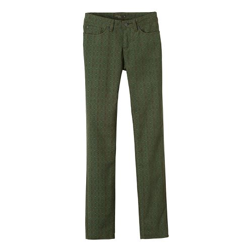 Womens prAna Trinity Cord Pants - Green 2