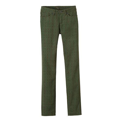 Womens prAna Trinity Cord Pants - Green 4
